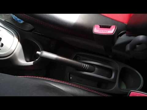 Как подтянуть ручник Peugeot 107 c1 aygo