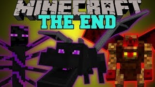 getlinkyoutube.com-Minecraft: THE END MOD (HARDCORE BOSSES, DUNGEONS, & EPIC ITEMS!) Mod Showcase
