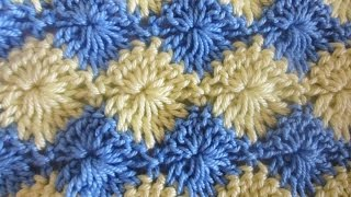 getlinkyoutube.com-Двухцветный узор Two color pattern Crochet