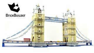 getlinkyoutube.com-Special for 500 000 SUBSCRIBERS!!! Lego Creator 10214 Tower Bridge - Lego Speed Build