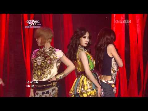 [HD 120427] 4Minute - Volume Up @ Music Bank -JDAKlqcVIUg