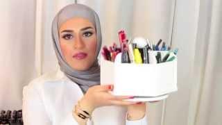 getlinkyoutube.com-How i organize my makeup .. كل اثنين .. دقيقتين