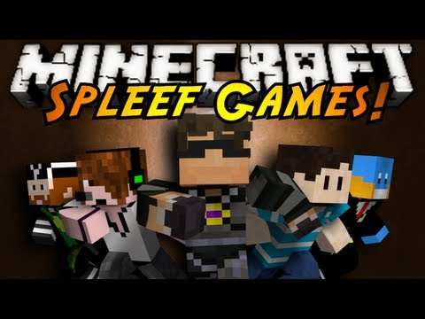 Minecraft Mini-Game : SPLEEF! (with Friends!)