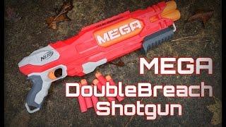 getlinkyoutube.com-Honest Review: Nerf MEGA DoubleBreach (Over/Under Shotgun Unboxing+Review)