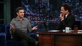 getlinkyoutube.com-Justin Timberlake Interview Jimmy Fallon 2011 HQ