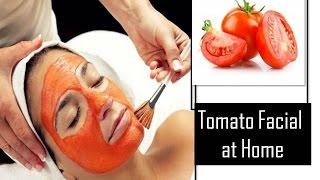 getlinkyoutube.com-How to do Tomato facial at Home | StarNaturalBeauties.