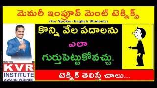 getlinkyoutube.com-Spoken English   Learn English through Telugu   call 09789099589(24 గంటలు) www.kvrinstitute.com