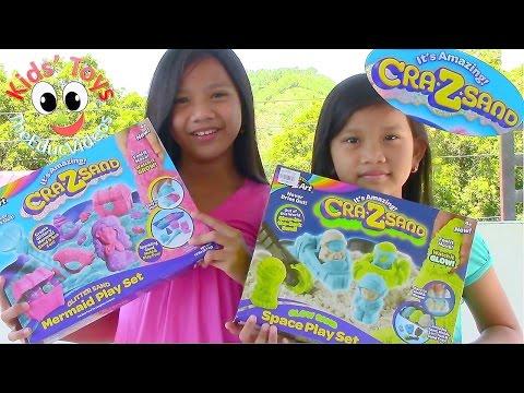 Cra-Z-Sand Space Playset & Cra-Z-Sand Mermaid Playset - Kids' Toys