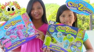 getlinkyoutube.com-Cra-Z-Sand Space Playset & Cra-Z-Sand Mermaid Playset - Kids' Toys