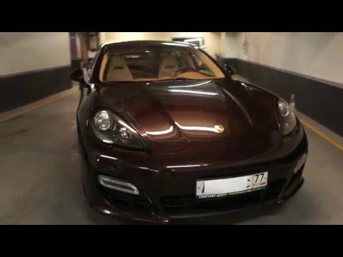 Где в Porsche Панамера находятся подушки безопасности