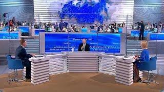 В.Путин ответил на вопросы, посвященные развитию промышленности, бизнеса и сельского хозяйства.