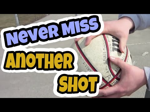 How to Shoot A Basketball - NEVER Miss Another Shot