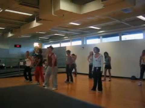 Part II Tari Mannello: Hip-Hop Choreography to Houston, I Like That, 24 Hour Fitness 2003