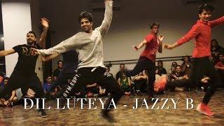 Dil Luteya - Jazzy B  Dance Cover   Rohan Pherwani   Choreography   Bhangra Swag