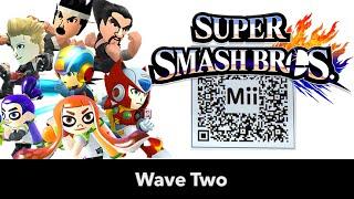 getlinkyoutube.com-Inkling, Jacky, Akira, Heihachi, .EXE & Zero Mii Fighter QR Codes for Smash Bros