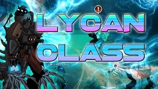 AQW: Lycan Class Guide (How to use, Review, Solo, Rating, Enchantments)