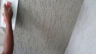 getlinkyoutube.com-como fazer grafiato com argamassa e granitina- passo a passo