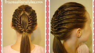 getlinkyoutube.com-Window Braid Tutorial, Edgy Hairstyles