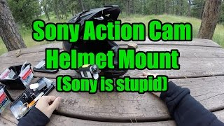 getlinkyoutube.com-How to Mount a Sony Action Cam on a Helmet