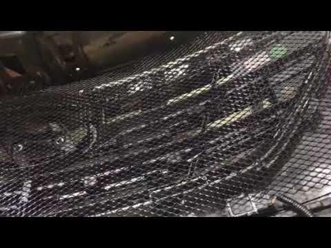 Где находится у Хендай Санта Фе радиатор кондиционера