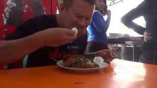 getlinkyoutube.com-ข้าวไก่ทอดร้อนมาก Medan food indonesia