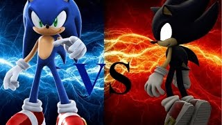 "getlinkyoutube.com-100 Subs Special: A Smash 4 Montage Sonic vs Dark Sonic ""SPEED BRAKE"""