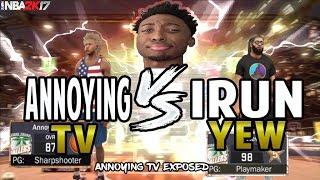 getlinkyoutube.com-NBA 2K17 AnnoyingTV & Superstar 3 Mascot Exposed | Im Annoyin Huh Exposed | SMG Exposed