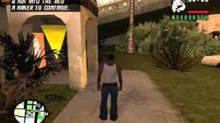 getlinkyoutube.com-Grand Theft Auto San Andreas  - Sweet's And Ryder's House Interior