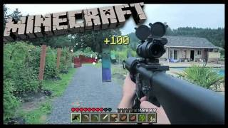 getlinkyoutube.com-REALISTIC MINECRAFT GUN SHOOT OUT!