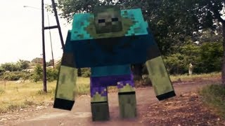 getlinkyoutube.com-Minecraft Mods in Real Life