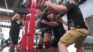 getlinkyoutube.com-Rhino B*tch slaps Johnnie Jackson and Ben White - 2,221 lb Raw Total | SuperTraining.TV
