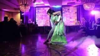 getlinkyoutube.com-Sajeev and Vinitha's Wedding Reception - First Dance!
