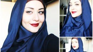 getlinkyoutube.com-Tutoriel Hijab style inversé