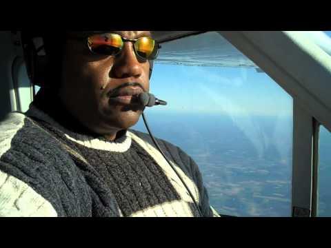 Cessna Cardinal 177RG Cruise Flight over North Carolina