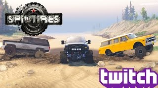 getlinkyoutube.com-Spintires: Old Chevys and Brute Fords!