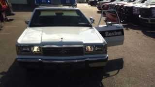 1991 Boston Police Car 1139