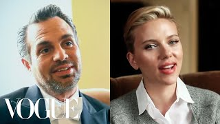 getlinkyoutube.com-Scarlett Johansson and Mark Ruffalo Know the Secret to Movie Chemistry Can Only Be One Thing