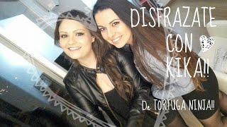 getlinkyoutube.com-DISFRAZ  DE  TORTUGA  NINJA!! - Kika