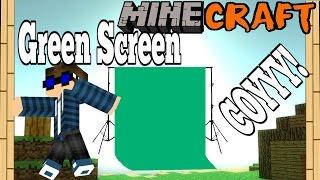 getlinkyoutube.com-Minecraft - CARA BIKIN GREENSCREEN! MANTAPZ JIWA (Chroma Keyer)