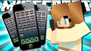 If Phones were Added to Minecraft