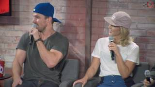 getlinkyoutube.com-NerdHQ 2016: A Conversation with Stephen Amell and Friends