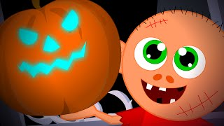 getlinkyoutube.com-Scary Pumpkin | Hello It's Halloween | Halloween Nursery Rhyme And Kids Songs