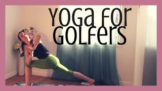 getlinkyoutube.com-Yoga for Golfers - Improve Your Swing, Open Shoulders, Hips & Low Back