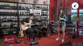 getlinkyoutube.com-Saxsociety Live (My Little Suede Shoes By Ant Jongjitaree Feat. Game Puttikorn)