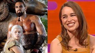 getlinkyoutube.com-Emilia Clarke on Khal Drogo's BIG FLUFFY sense of humor - The Graham Norton Show