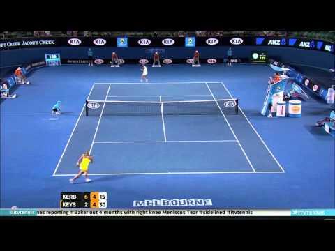 Madison Keys - Massive Forehand