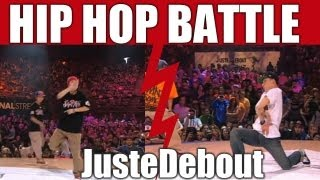 getlinkyoutube.com-HIP-HOP style dance Battle : Kyoka & Mika vs Lil J & Sparkle