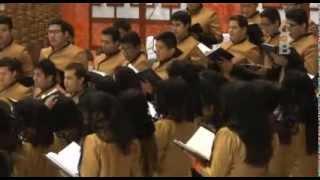 getlinkyoutube.com-Bendito Dios Coro  Hermosa Provincia Febrero 2014 LLDM