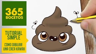 getlinkyoutube.com-COMO DIBUJAR UNA CACA KAWAII PASO A PASO - Dibujos kawaii faciles - How to draw a poo
