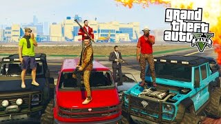 getlinkyoutube.com-GTA 5 ONLINE - HIPSTER HUNT, FLYSWATTER & BUSTED! GTA 5 MINI GAMES ONLINE! (GTA 5 PS4 Gameplay)